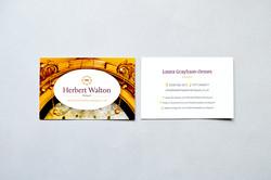 Herbert Walton Antiques Logo Design