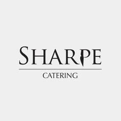 Logo Design for SHARPE CATERING by Frillie Design