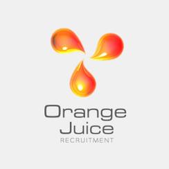 Logo Design for Orange Juice Recruitment by Frillie Design