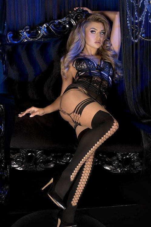 Ballerina 497 Black/Skin