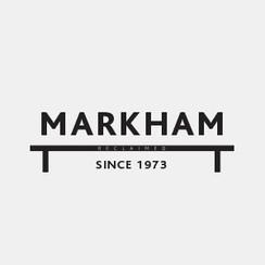 Logo Design for Markham Reclaimed by Frillie Design