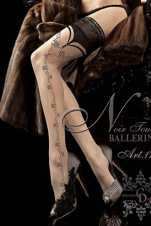 Ballerina 174 Hold Up Skin/Beige