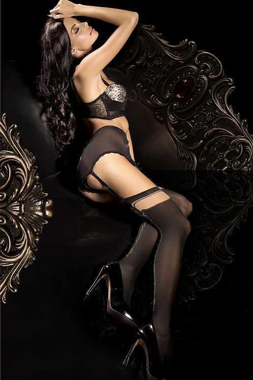 Ballerina 289 Stockings Nero (Black)
