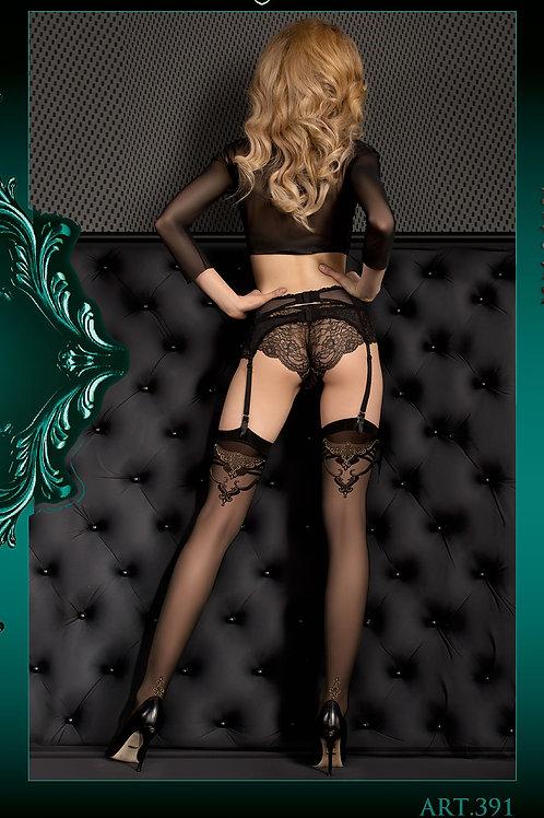 Ballerina 391 Stockings Nero (Black)