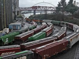 I5 Rail Capacity Study_Congested train y