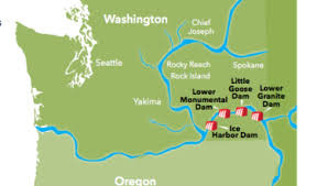 Breaching Snake River Dams_Map of Snake