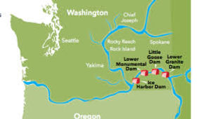 Breaching Snake River Dams_Map of Snake