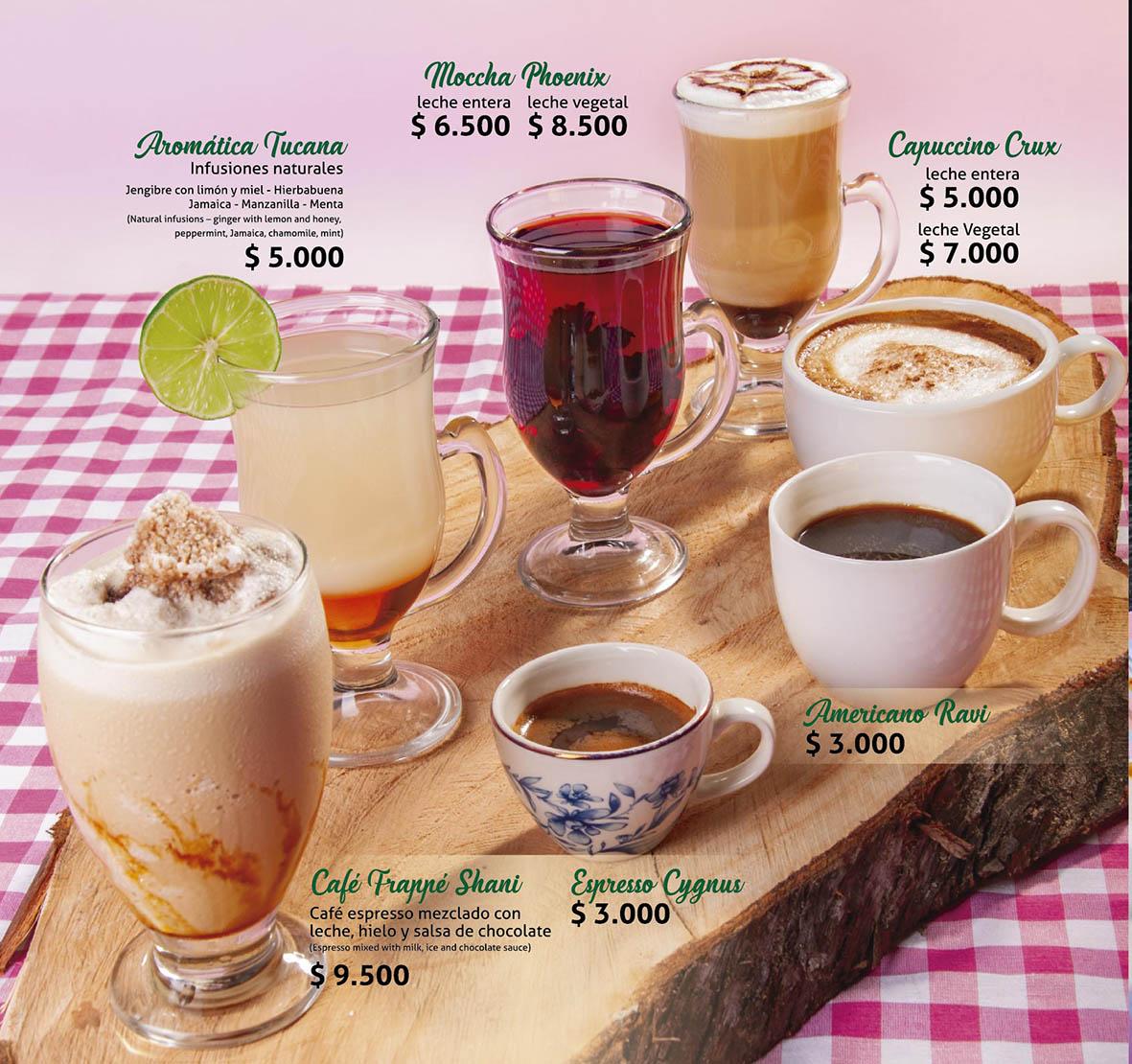 Bebidas Calientes y Café