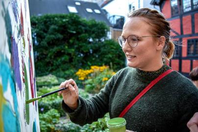 MEGA-mandalaer til Kulturnatten i Kolding i 2019