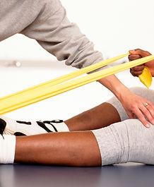 Physio leg stretch
