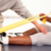 Physikalische Therapie-Sitzung
