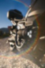 motosiklet sis farı sürüş destek farı