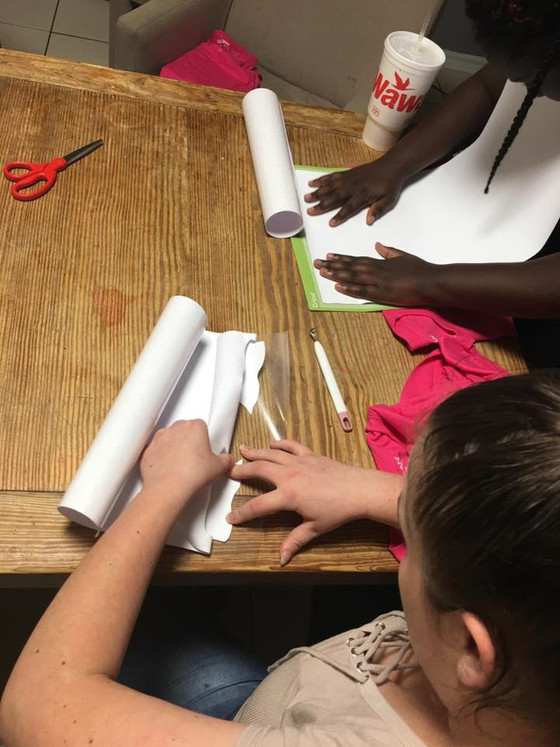 iPrevail Volunteers Teach a Craft Class to Help Foster Teens Learn a Hobby and Prepare for a Disney