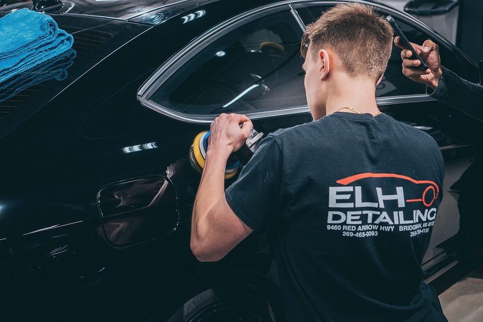 ELH Detailing Bridgman Michigan Paint Correction Mercedes