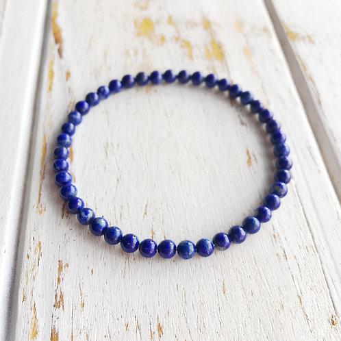 6mm Lapis Lazuli Bracelet