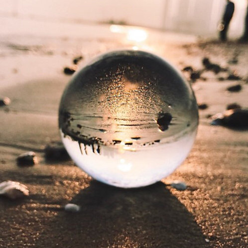 Crystal Gazing Ball