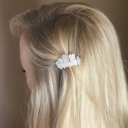 Crystal Points Hair Comb