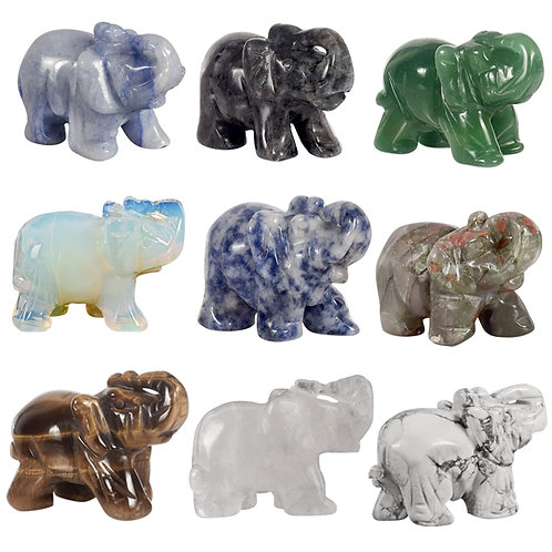 Crystal Elephants