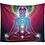 Thumbnail: Galaxy Lotus Chakras Tapestry