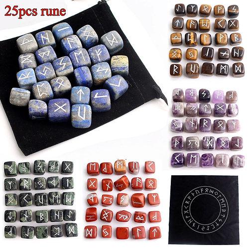 25Pcs Rune Stones Set