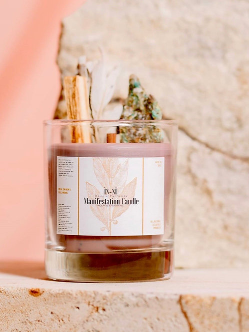 Inni Candle With Palo Santo & Sage