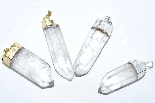Single Crystal Point Pendant