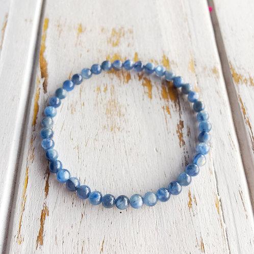 4mm Blue Kyanite Bracelet