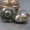 Thumbnail: Handcrafted Tibetan Tingsha Cymbal Bell With Buddhist Lucky Symbols