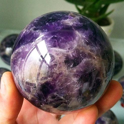 70/90mm Amethyst Sphere