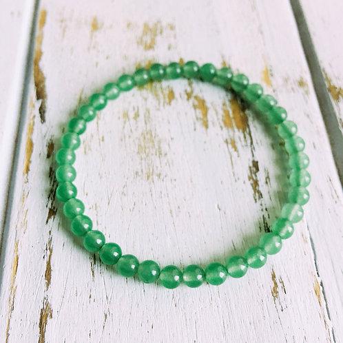 4mm Green Aventurine Bracelet