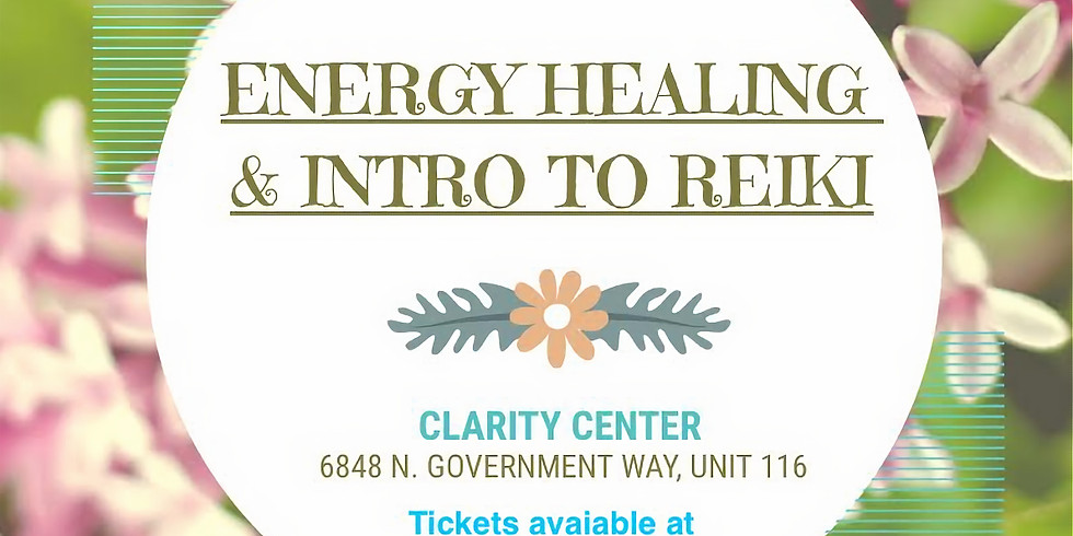 Energy Healing & Intro to Reiki Class