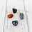 Thumbnail: Grounding Set * Black Onyx, Red Jasper, Hematite & Snowflake Obsidian