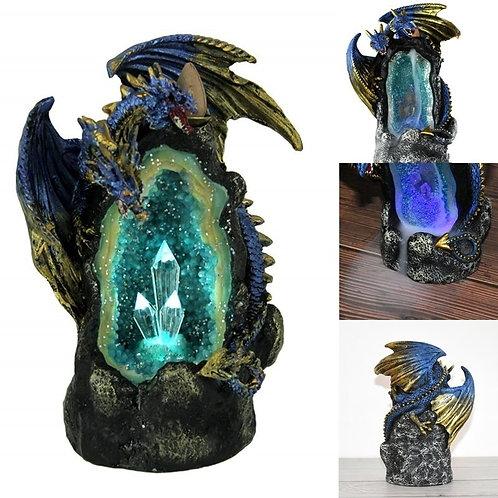 LED Dragon BackFlow Incense Burner