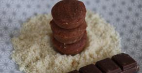 Mini financiers au chocolat