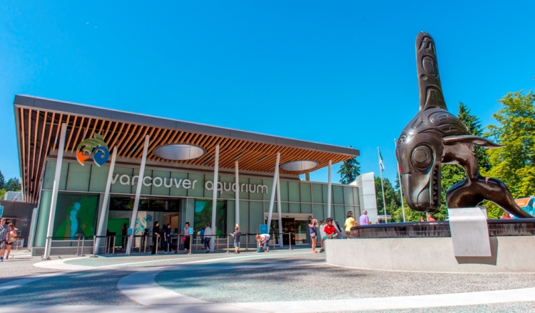 Vancouver Aquarium Front