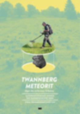 Thea Sonderegger, Plakat Twannbergmeteorit