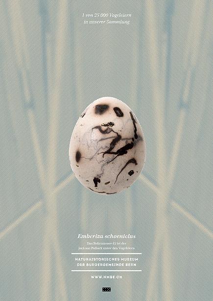 Thea Sonderegger, Plakat Rohrammer Ei
