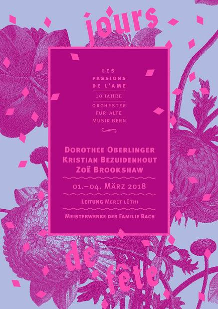 Thea Sonderegger, Plakat Jours de Fête