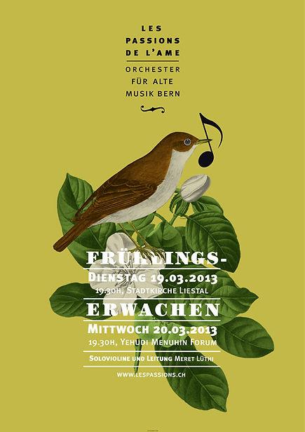 Thea Sonderegger, Plakat Frühlingserwachen