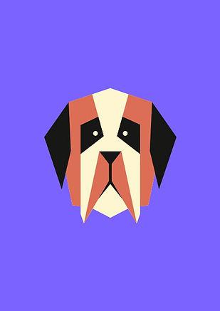 Thea Sonderegger, Piktogramm Bernhardinerhund