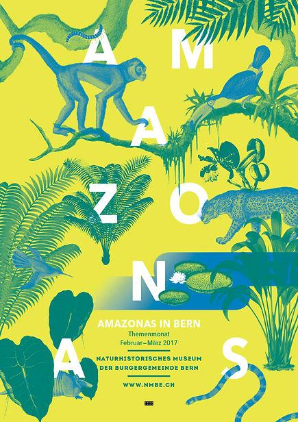 Thea Sonderegger, Plakat Amazonas in Bern