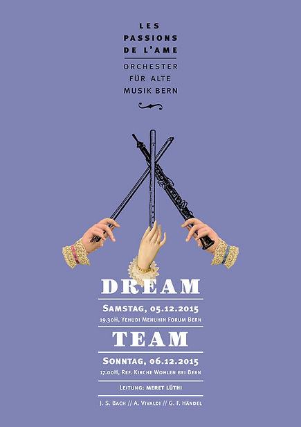 Thea Sonderegger, Plakat Dreamteam