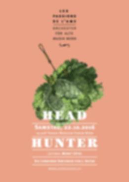 Thea Sonderegger, Plakat Headhunter