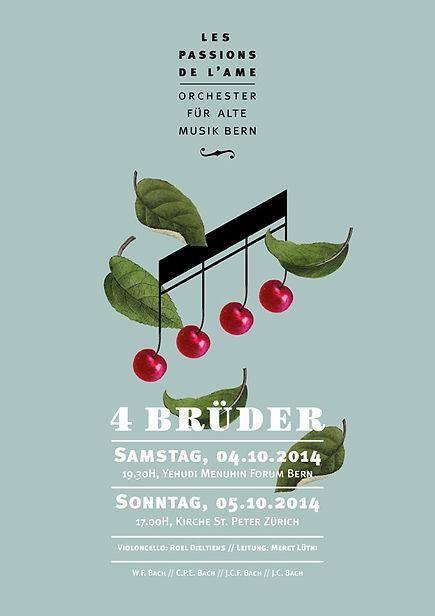 Thea Sonderegger, Plakat 4 Brüder