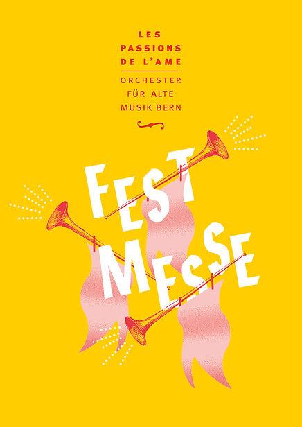 Thea Sonderegger, Plakat Festmesse