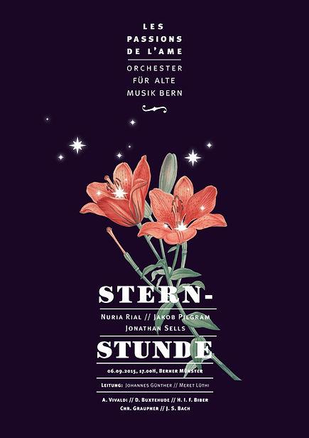 Thea Sonderegger, Plakat Sternstunde