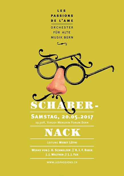 Thea Sonderegger, Plakat Schabernack