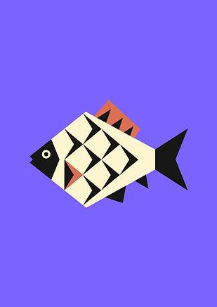 Thea Sonderegger, Piktogramm Fisch