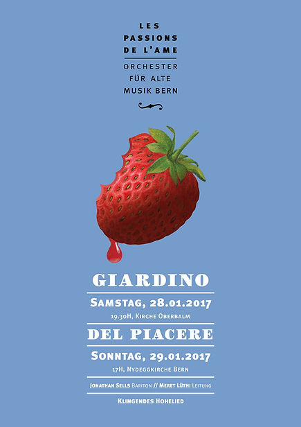 Thea Sonderegger, Plakat Giardino del Piacere