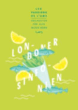 Thea Sonderegger, Plakat Londoner Synfonien